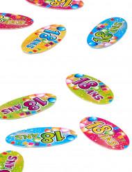 80 confetties 18 ans