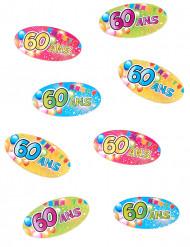 80 confettis 60 ans