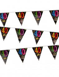 40 jaar vlaggenslinger
