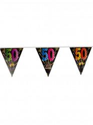 50 jaar vlaggenslinger