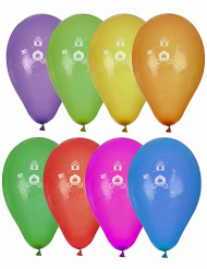 8 prinsessen ballonnen
