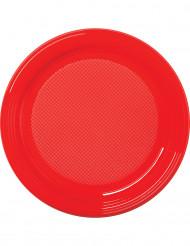 30 rode plastic borden