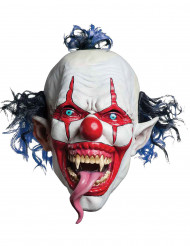 Boosaardige clown masker voor volwassenen