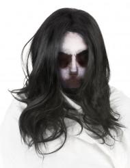 Spookmasker met pruik voor volwassenen