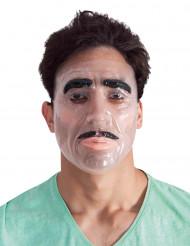 Transparant masker van man voor volwassenen