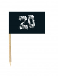 20 jaar mini vlaggenprikkers
