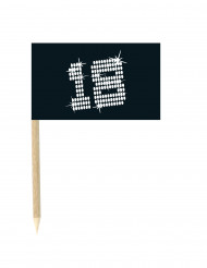 10 mini 18 jaar vlaggenprikkers