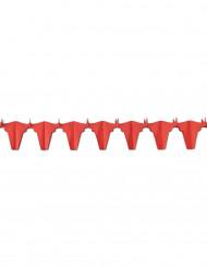 Rode vuurbestendige stierenslinger