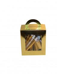 Goudkleurig feestpakket voor 10 personen