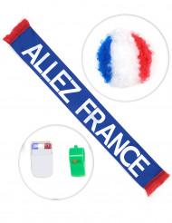 Franse supporter set