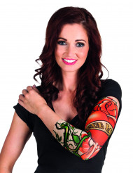 True love tatoeage sleeve voor vrouwen