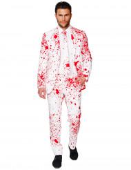 Wit bloederig Opposuits™ kostuum voor mannen