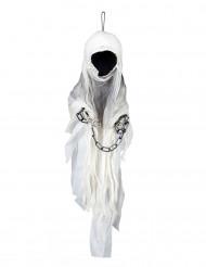 Reaper skelet met ketting decoratie