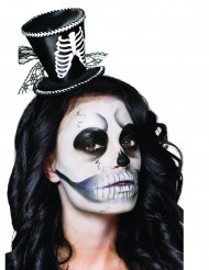 Mini skeletten hoedje voor vrouwen