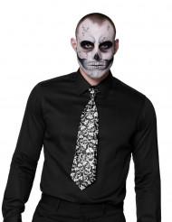 Doodskop stropdas voor volwassenen
