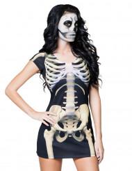 Skeletten jurk voor vrouwen