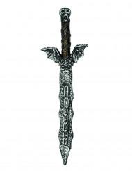 Plastic zwaard evil skeleton