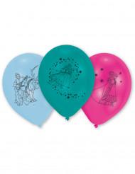 6 latex Frozen™ ballonnen