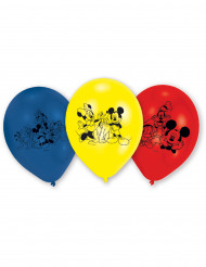 6 latex Mickey Mouse™ ballonnen