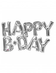 Happy Birthday aluminium ballon
