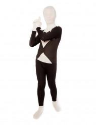 Zwart en wit Morphsuits™ kostuum voor kinderen