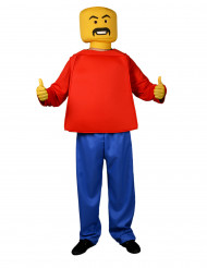 Morphsuits™ Blockhead kostuum voor volwassenen