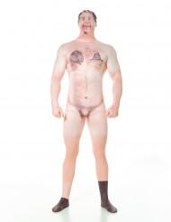 Gecensureerd naakt kostuum Morphsuits™ volwassenen