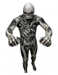 Skelet Morphsuits™ kostuum voor volwassenen