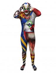 Eng Morphsuits™ clownskostuum voor volwassenen
