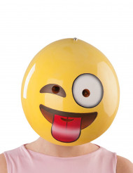 Smiley emoticon masker voor volwassenen