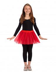 Rode tutu voor meisjes