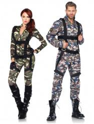 Luxe militairen koppelkostuums voor volwassenen