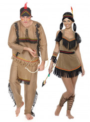 Indianen koppelkostuum voor volwassenen
