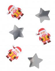 20 grote Kerstman confetti