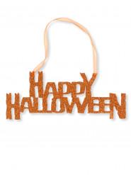 Oranje Happy Halloween decoratie