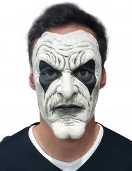 Wit joker masker voor volwassenen