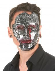 Metalen man masker voor volwassenen