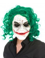 Psychopaat harlekijn masker voor volwassenen
