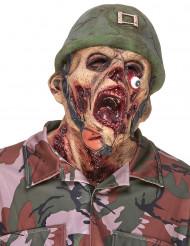 Latex zombie soldaten masker voor volwassenen