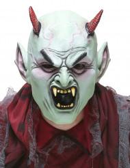 Boze duivel latex masker voor volwassenen