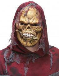 Reptiel etend skelet masker voor volwassenen