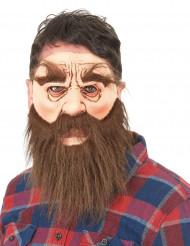 Man met baard masker voor volwassenen