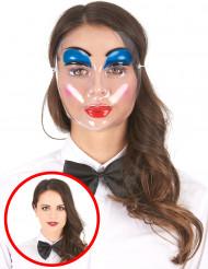 Doorzichtig schmink masker voor vrouwen