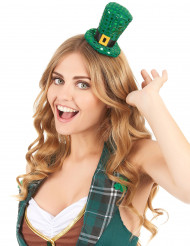 Mini Saint Patrick hoge hoed voor volwassenen
