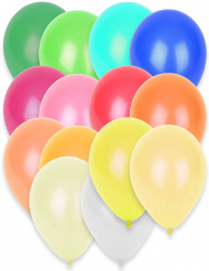 50 ballonnen met verschillende kleuren