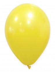 50 gele ballonnen