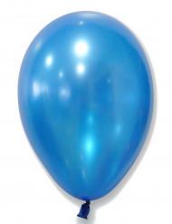 50 metallic blauwe ballonnen