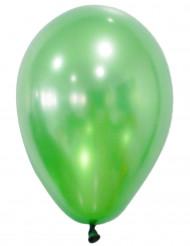 50 Metallic groene ballonnen