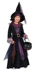 Fluweelachtige bosheks kostuum voor meisjes
