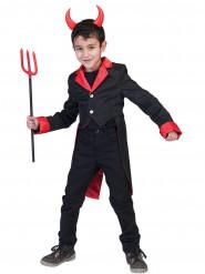 Slipjas duivelskostuum voor jongens